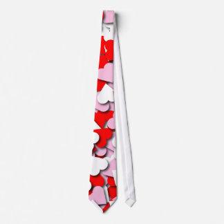 Confetti Hearts Tie