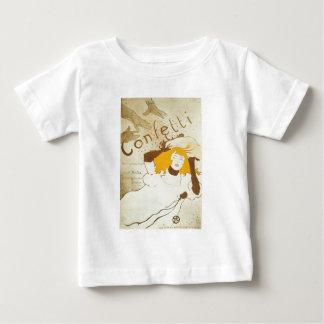 Confetti Henri de Toulouse Lautrec illustration Baby T-Shirt