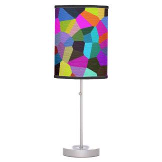 Confetti in Jewel Tones Table Lamp