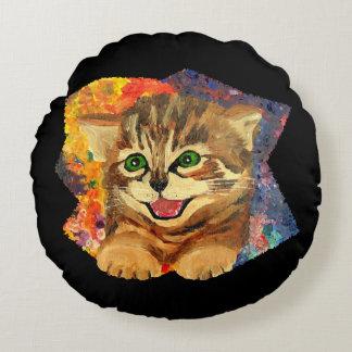 Confetti Kitty Pillow