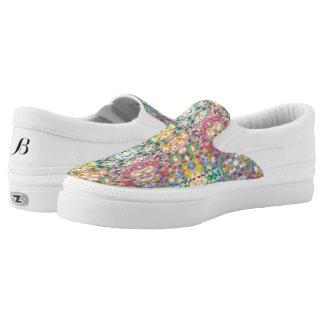 Confetti Low Top Zipz Shoes