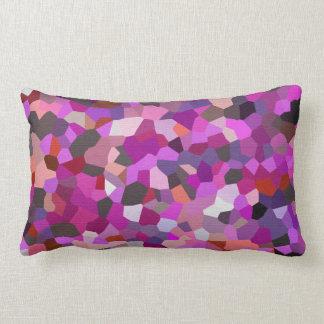 Confetti Magenta Mind Lumbar Pillow