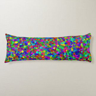 Confetti - Multicolored Body Pillow