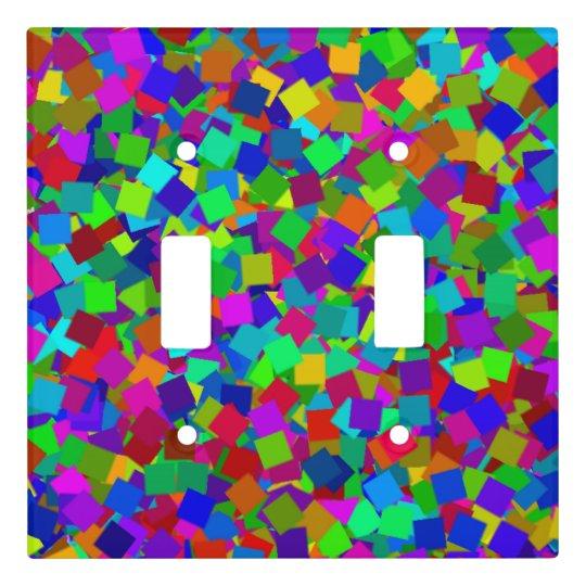 Confetti - Multicolored Light Switch Cover