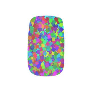 Confetti - Multicolored Minx Nail Art