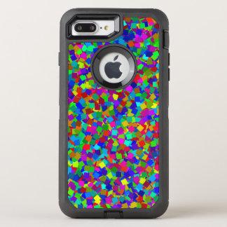 Confetti - Multicolored OtterBox Defender iPhone 7 Plus Case