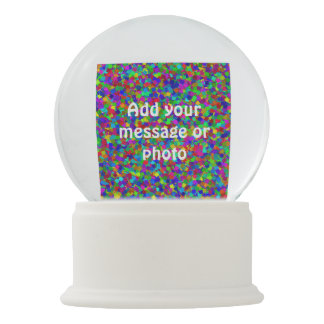 Confetti - Multicolored Snow Globe