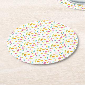 Confetti Paper Coasters
