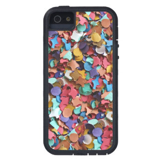 Confetti Party Carnival Colorful Paper Funny iPhone 5 Cover