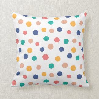 Confetti pilllow throw pillow