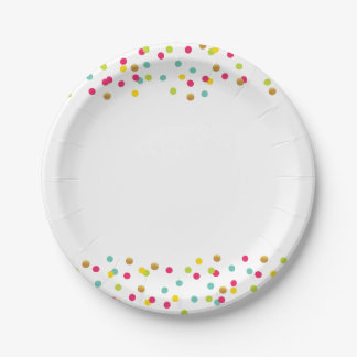 Confetti Plates