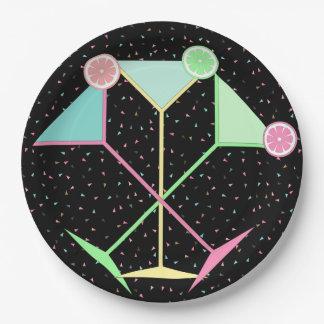 Confetti Plates, Martini Plates, Paper Plates