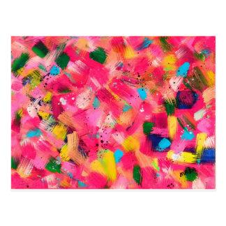 Confetti Storm Postcard