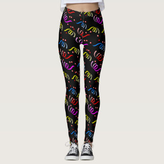 Confetti Streamers Leggings