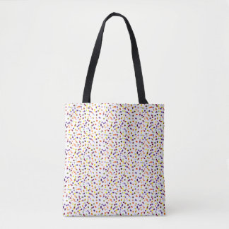 Confetti Tote Bag - Polka Dot Tote Bag
