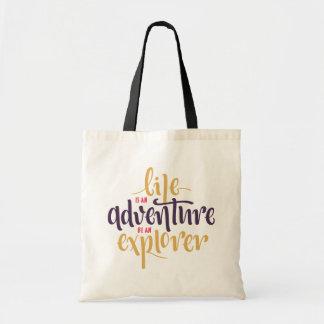 Confidence, Attitude Life Motivational Quote Tote Bag