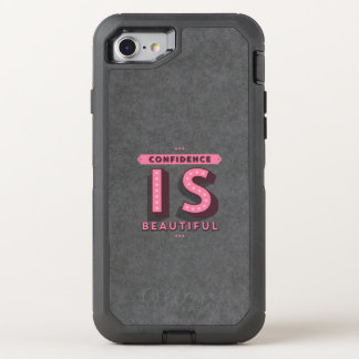 Confidence Is Beautiful OtterBox Defender iPhone 7 Case