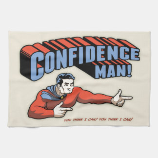 Confidence Man! Kitchen Towel