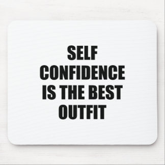 Confidence Outfit Mouse Pad