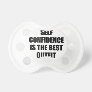 Confidence Outfit Pacifier