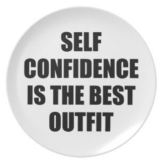 Confidence Outfit Plate