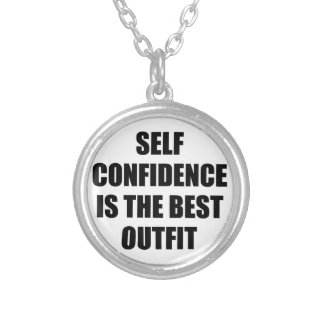 Confidence Outfit Silver Plated Necklace