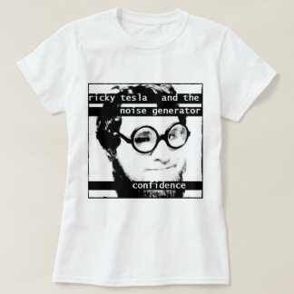 """Confidence""-Ricky Tesla (women's) T-Shirt"