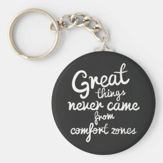 Confidence, Success, Goals Attitude Motivational Keychain