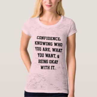 Confidence Women's T-shirt