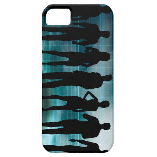Confident Business Team of Professionals in Suits Case For The iPhone 5