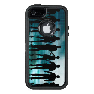 Confident Business Team of Professionals in Suits OtterBox iPhone 5/5s/SE Case