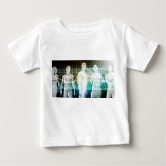 Confident Successful Business Team Standing Baby T-Shirt