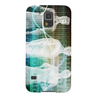 Confident Successful Business Team Standing Case For Galaxy S5