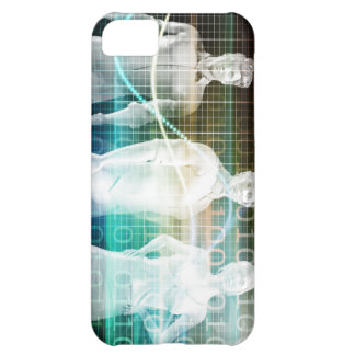 Confident Successful Business Team Standing Case For iPhone 5C