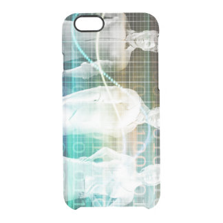 Confident Successful Business Team Standing Clear iPhone 6/6S Case