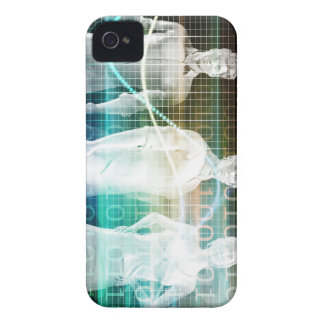 Confident Successful Business Team Standing iPhone 4 Covers