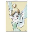 Confident Tinker Bell Card