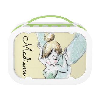 Confident Tinker Bell - Personalized Lunch Box