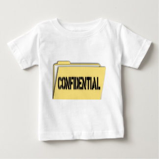 Confidential Folder With Paper Baby T-Shirt