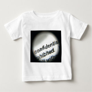 Confidential Prohibited Baby T-Shirt