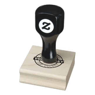 Confidential Sign Rubber Stamp