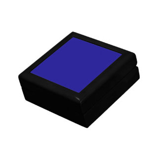 Confidently Clever Blue Color Jewelry Box