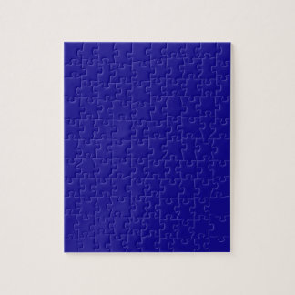 Confidently Clever Blue Color Jigsaw Puzzle