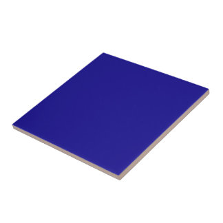 Confidently Clever Blue Color Tile