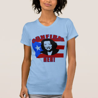 Confirm Her with Puerto Rico Flag Products T-Shirt