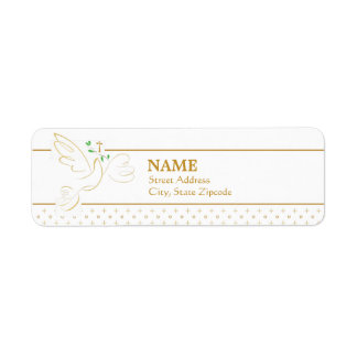 Confirmation | Baptism Return Address Label