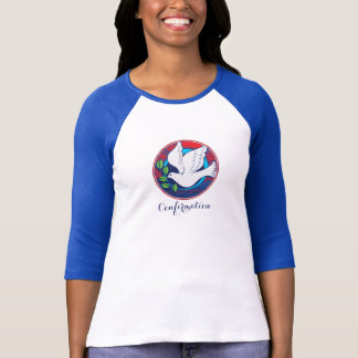 Confirmation, Dove Colorful, Women's Shirt