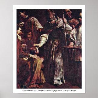 Confirmation (The Seven Sacraments) Poster