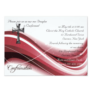 Confirmation Wave Invitation