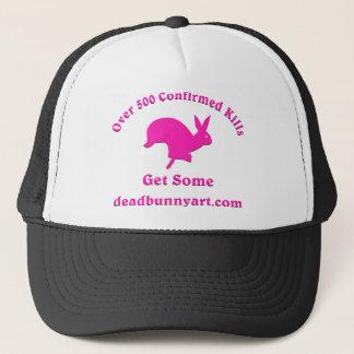 confirmed_kills_vinyl_pink trucker hat